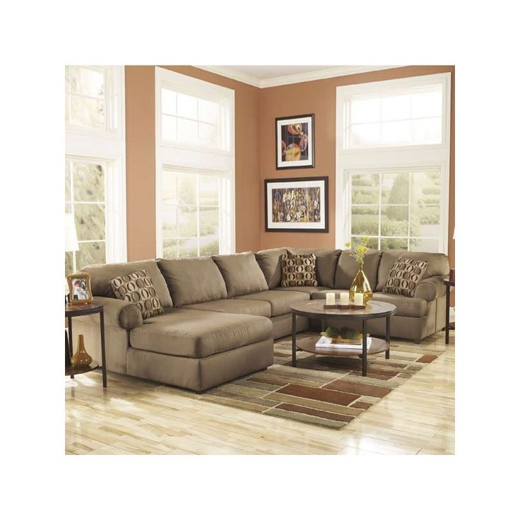 1000 ideas about ashley furniture outlet on pinterest for Ashley beige sofa chaise