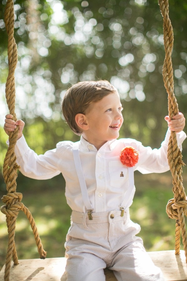 Seersucker & Suspenders - Handsome Ring Bearer #southernweddings #highcotton #musthave