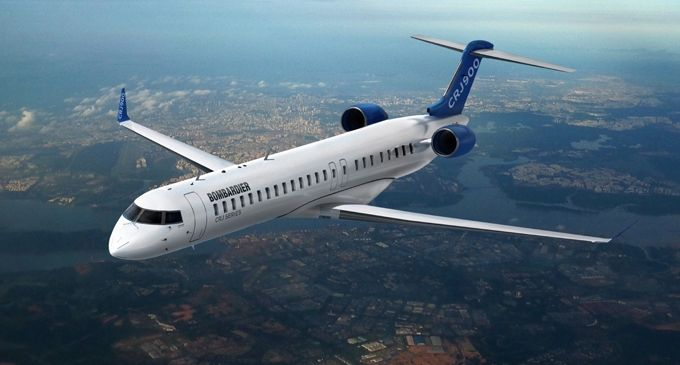 Bombardier Commercial Aircraft receives order for up to twelve CRJ900 aircraft