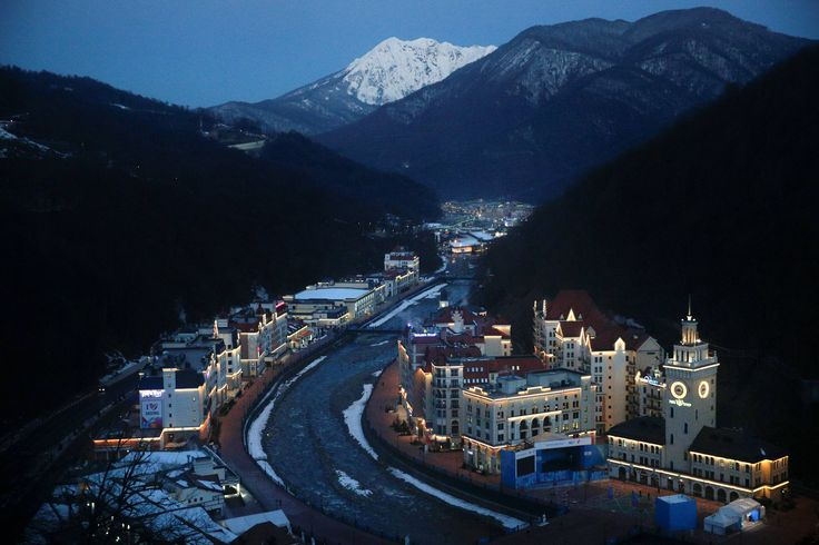 Rosa Khutor Alpine Resort Krasnaya Polyana, Sochi, Krasnodar Krai; Russia