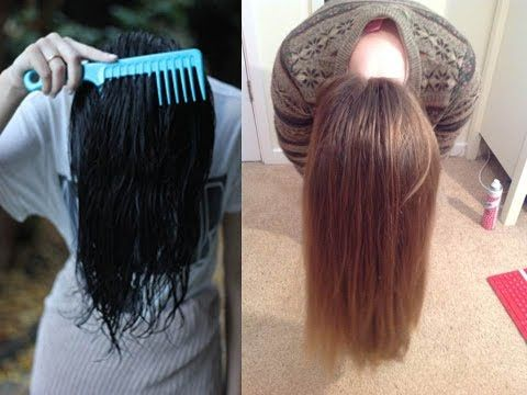 Grow your hair 2-4 inches in one week -Inversion Method,Extremely Fast Hair Growth - YouTube