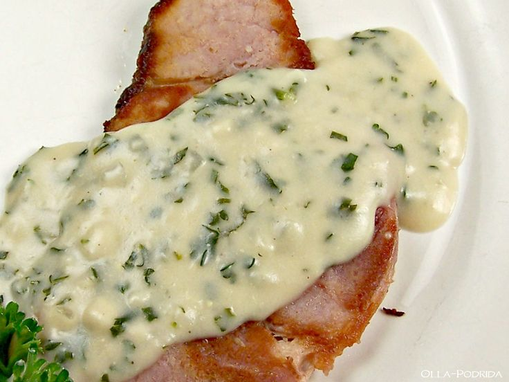 Ham with Parsley Sauce