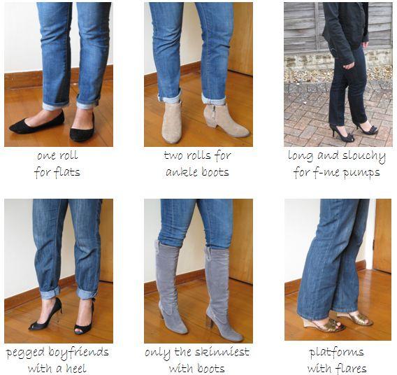 Straight Leg Womens Jeans