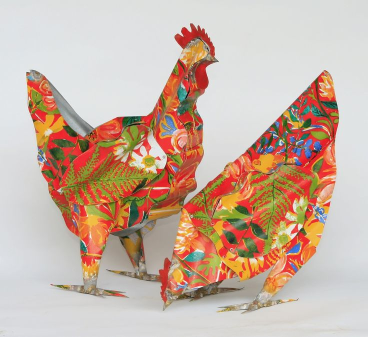 Hens, 2002 by Jeff Thomson. From the artists collection, photographed by Rory Thomson.