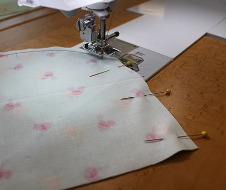 Learn how to sew a smooth, curved edge.