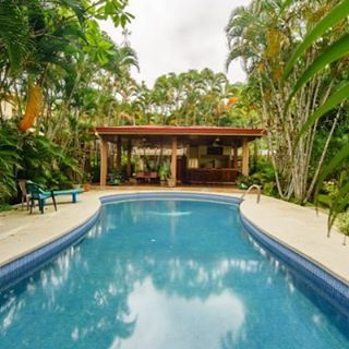 Writing workshop in Costa Rica? Yes, please!  No DJs. No clubs. No nightlife. No 24/hour stores. No crowds. No trends. Internet dead zones. . You won't be up to date on any memes. . You might fall behind in current events. . You might not care. . #travel #costarica #travelgram #pools #swimming #relaxing #inspiration #puravida #writeatnormas #latinamerica