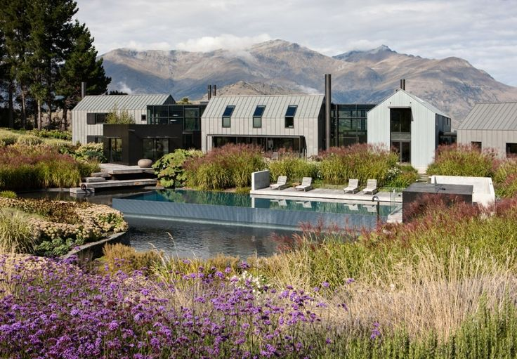 Private Residence New Zealand Suzanne Turley Landscapes design