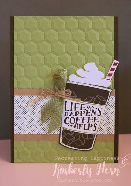 Recreating Happiness: AWH Blog Hop June 2017 - My Favourite New Bundle - Coffee Cafe