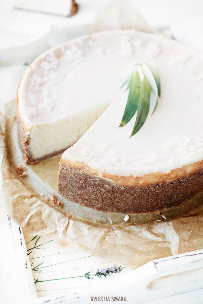 Sernik Piña Colada: Desserts, Piñacolada, Pina Colada, Pinacolada, Colada Cheesecake, Cheese Cak, Piña Colada, Cheesecake Recipes, Chee Cakes