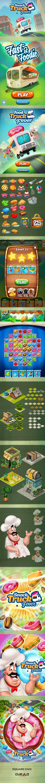 Food Truck Fever / Game artwork / Game design