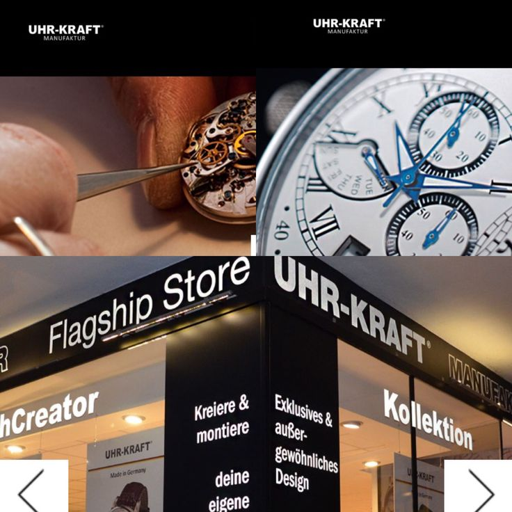 Check out our new #Uhrkraft Homepage ❤️ www.uhr-kraft.com