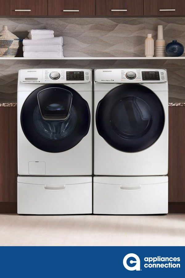 Samsung Laundry Washer And Dryer In 2020 Laundry Design Laundry Room Design Samsung Laundry