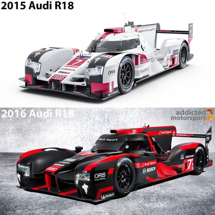 2015 Audi R18 (Low Downforce) vs. 2016 Audi R18