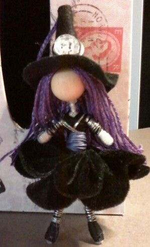 Little witch wire doll