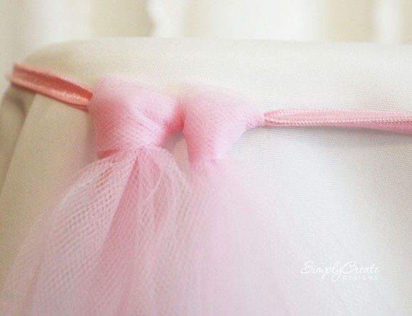Learn to Make a No-Sew Tulle Table Skirt | Catch My Party