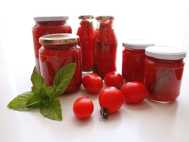 Pomodorini + piennolo + passata + pacchetelle