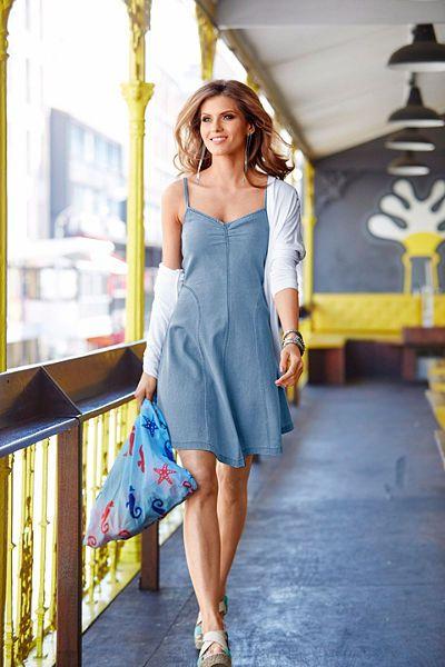 Aniston Džínové šaty