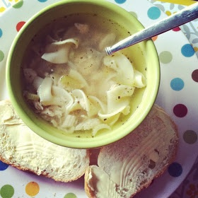 Little Bit Funky: failproof-easy-delicious chicken noodle soup {in a crock pot}
