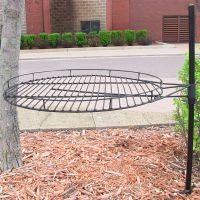 "Sunnydaze 24"" Adjustable Fire Pit Cooking Grate 