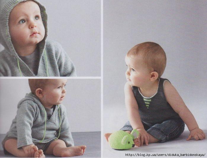 Пуловер с капюшоном и майка (Phildar 67). Обсуждение на LiveInternet - Российский Сервис Онлайн-Дневников