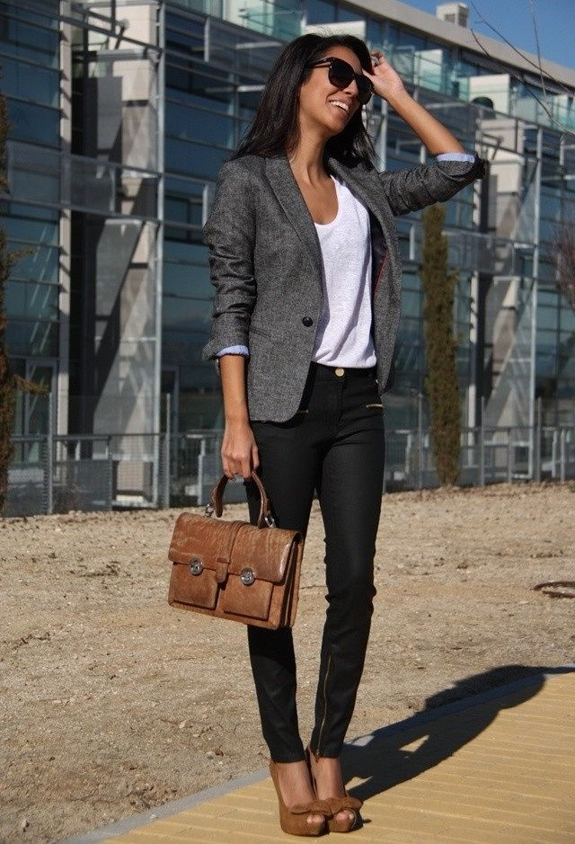 Business attire: womens jeans for office work