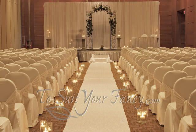 1950s Indoor Wedding Reception Ideas