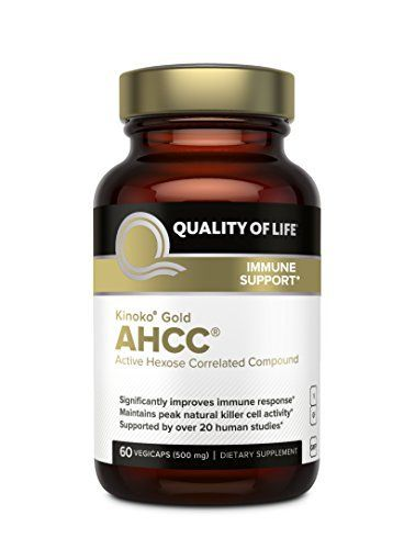 What is AHCC? AHCC, or Active Hexose Correlated Compound, is obtained from several subspecies of hybridized medicinal mushroom mycelia. Developed in Japan, AHCC is supported by 29 positive studies published in peer-reviewed scientific journals recognized by the National Institutes of... more details at http://supplements.occupationalhealthandsafetyprofessionals.com/vitamins/multi-prenatal-vitamins/multiple-vitamin-mineral-supplements/product-review-for-premium-kinoko-gold-ahc
