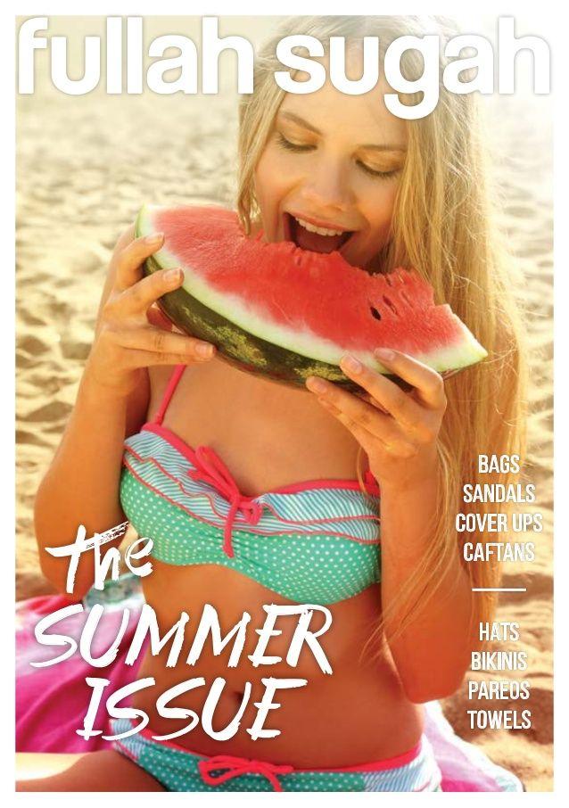 Fullah Sugah Look book Summer 14