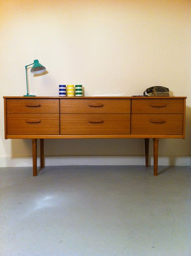 23 curated commodes enfilades ideas by becbunzen vanities cabinets and ar - Buffet scandinave vintage ...