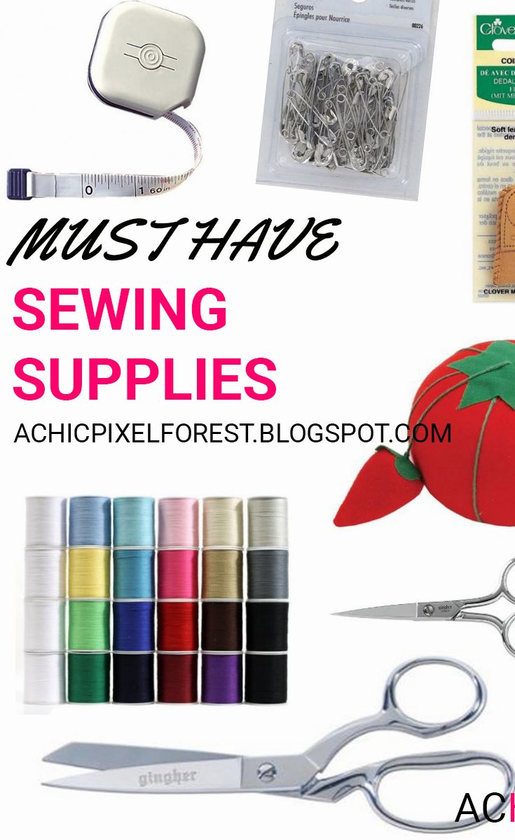 In this post I'll share must have sewing supplies that you need if you want to…