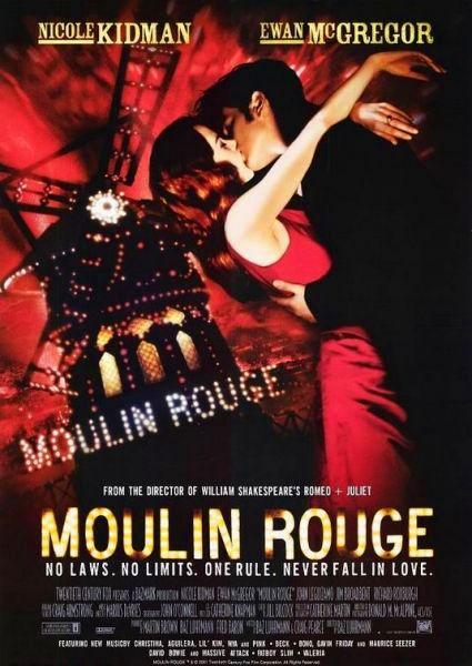 Download - Filme - Moulin Rouge -  Amor em Vermelh...