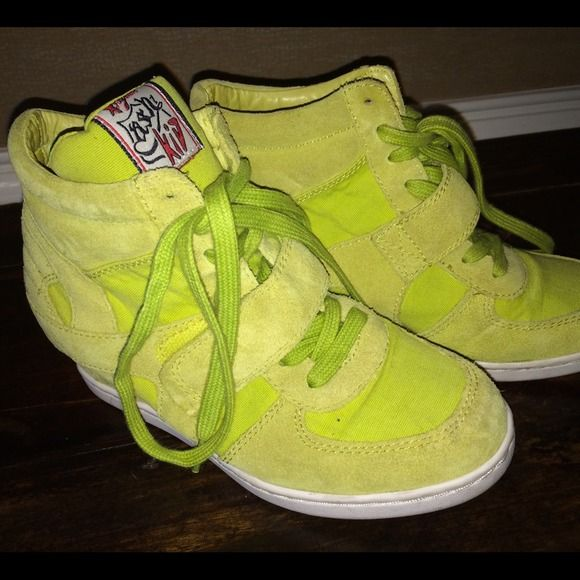 Youth Ash Sneakers Great condition Ash sneaker wedge. Purchased in Paris  these are a Youth 34! Ash kids are the glam kids! Ash Shoes Sneakers