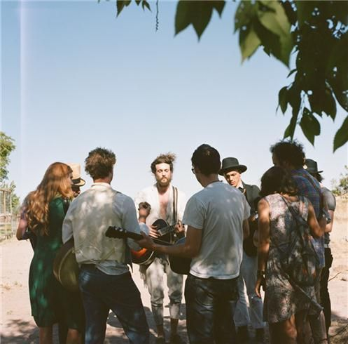 Edward Sharpe and The Magnetic Zeros. Ya'll don't even understand how happy I am that this kind of music is popular again.