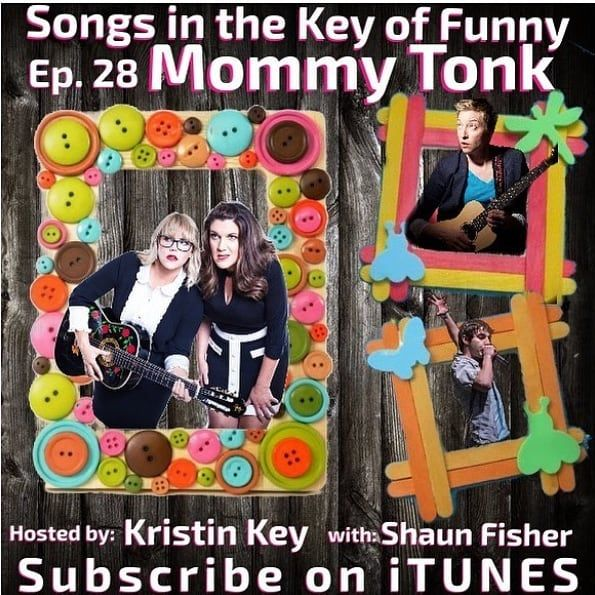 Come and see Songs In The Key Of Funny podcast LIVE Monday @flapperscomedy 8pm with guest @mommytonk. Hosted by @thekristinkey and @heyguysitsshaun Come enjoy stand-up comedy followed by the musical podcast that thinks its a game show @songskeyoffunny! You don't want to miss it! Tickets via the link in bio!