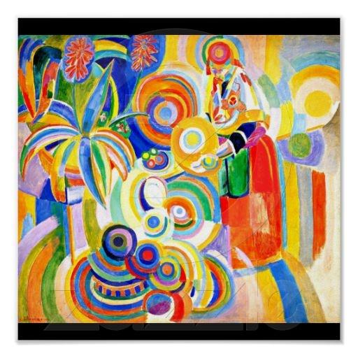 Poster-Classic/Vintage-Robert Delaunay 13