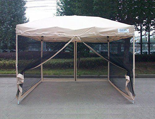 Quictent® 8x8 Ez Tan Pop Up Party Tent Canopy Gazebo Mesh... Https