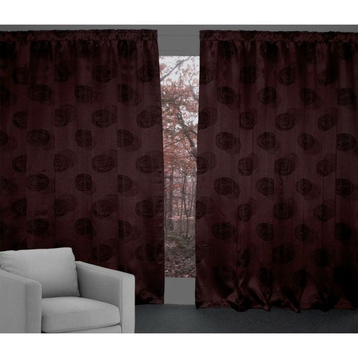 Hot Chilli Halo ***2600mm Long*** Curtains