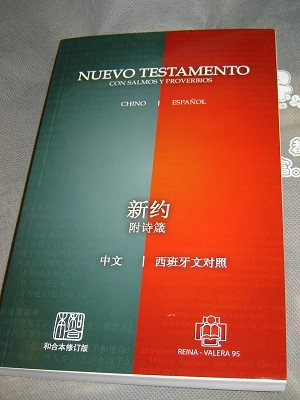 Chinese & Spanish Rvr95 Diglot Nt W/P (Chinese Edition)