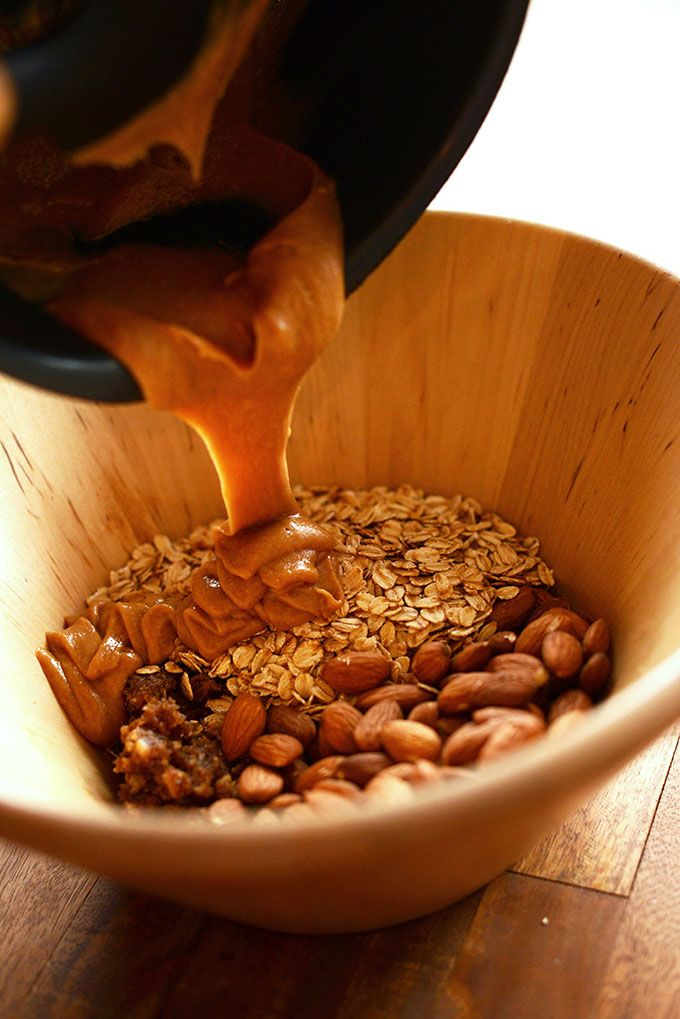 Healthy 5-Ingredient Granola Bars.