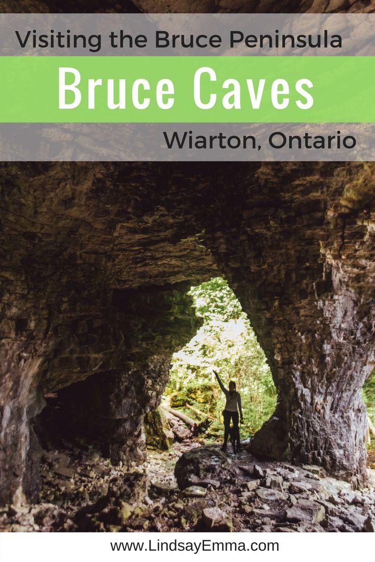 Bruce Caves Conservation Area, Wiarton Ontario - Bruce Peninsula