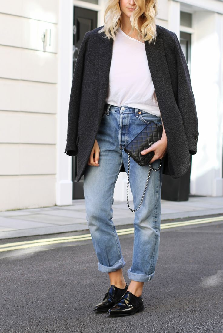 Isabel Marant jacket, Levis 501 & Chanel