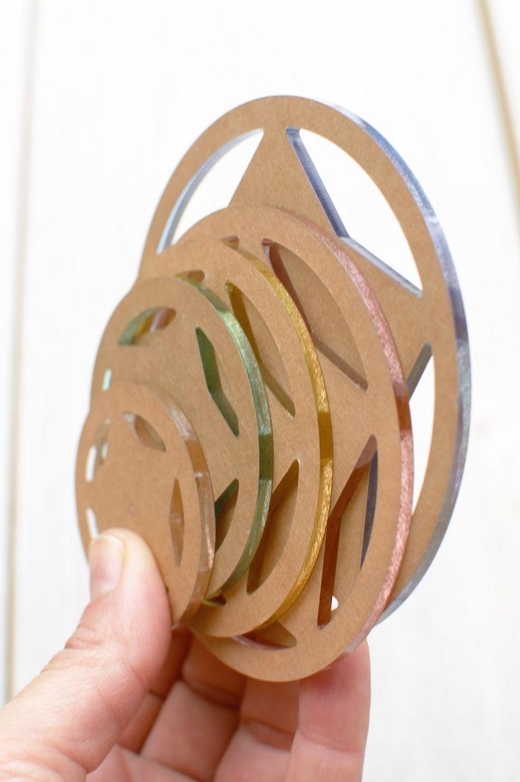 Set de 5 plantillas para círculos especiales para patchwork