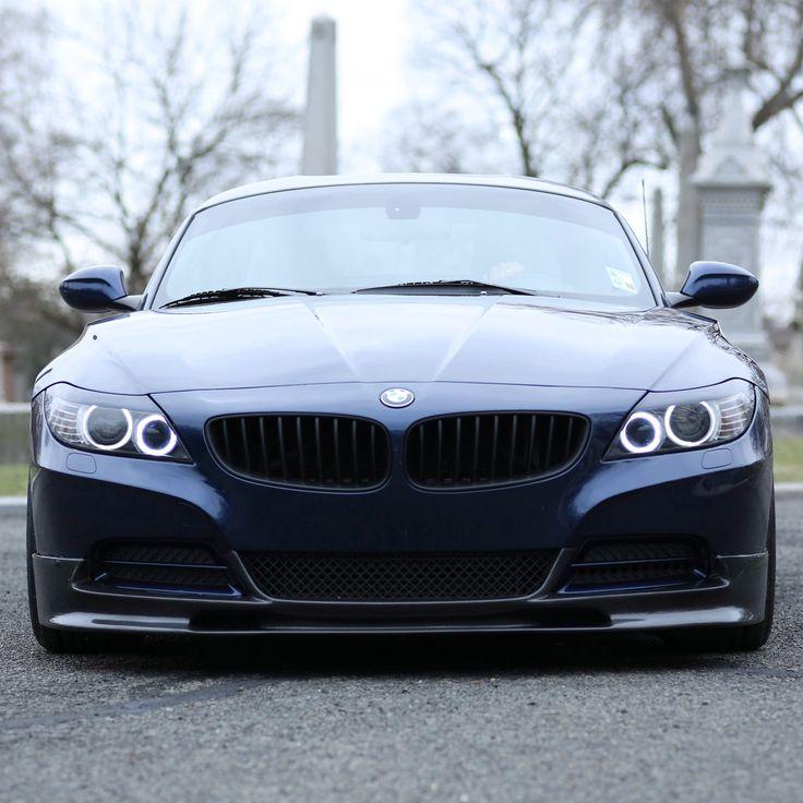 Bmw Z4 Black: BMW Z4 This Is One Of The First BMW Z4 On Velgen Wheels