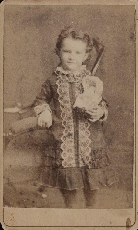 BA2843/20: Dircksey Constance Cowan, ca.1884, holding a miniature pram.  http://encore.slwa.wa.gov.au/iii/encore/record/C__Rb4879342__Sba2843Lw%3D%3D20__Orightresult__U__X3?lang=eng&suite=def