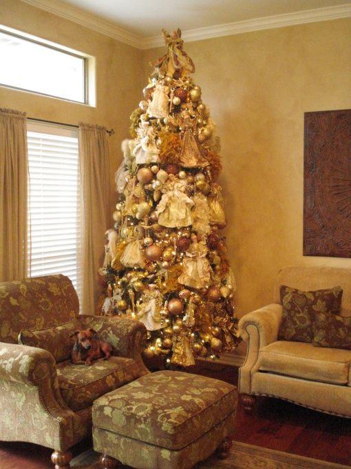 Victorian Christmas Angel Tree