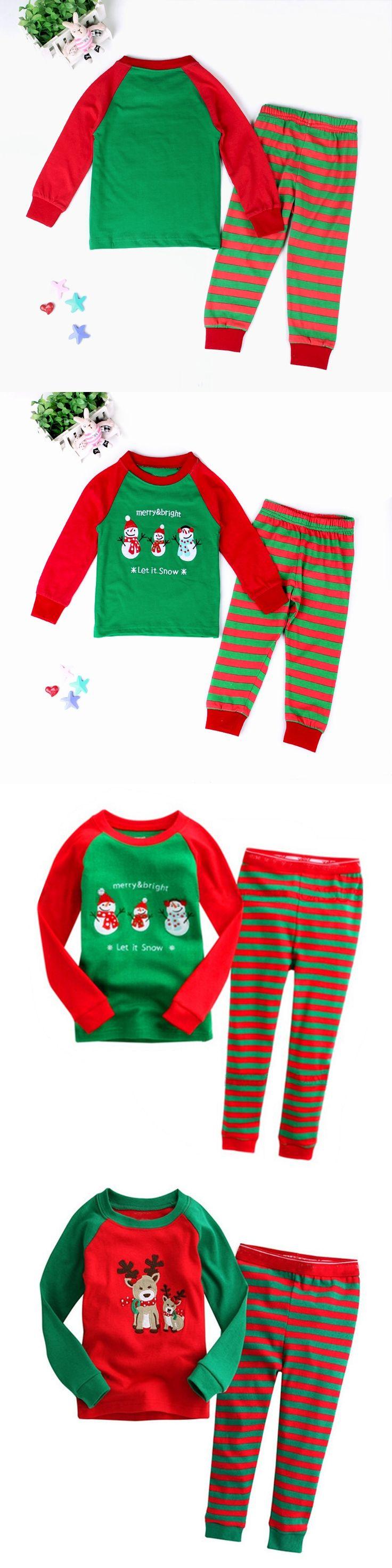 Children Christmas Pajamas Set Cartoon Kids Pijamas For Boys 2-7 Years Girls Pyjama Set Toddler Boys Sleepwear Costume For Boys