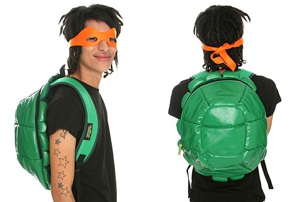 Teenage Mutant Ninja Turtles Shell BackPack Not For The Introverted