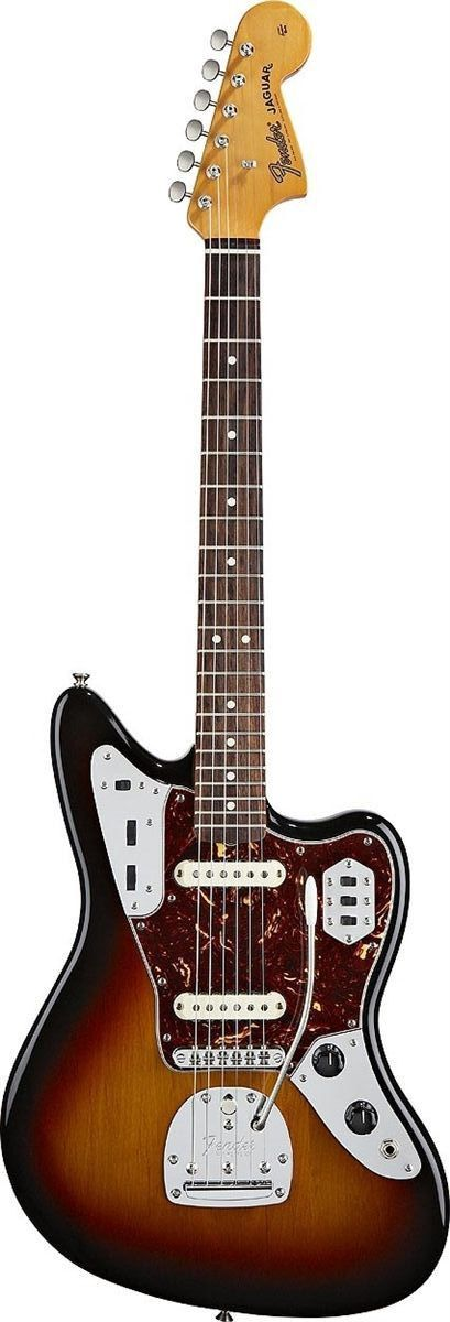 Fender Classic Player Jaguar Special Electric Guitar The Classic Player Jaguar Special guitar updates the time-honored Jaguar model with several thoroughly modern improvements, including hotter pickup