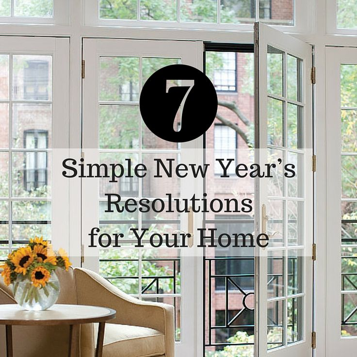 7 Simple New Yearu0027s Resolutions for Your