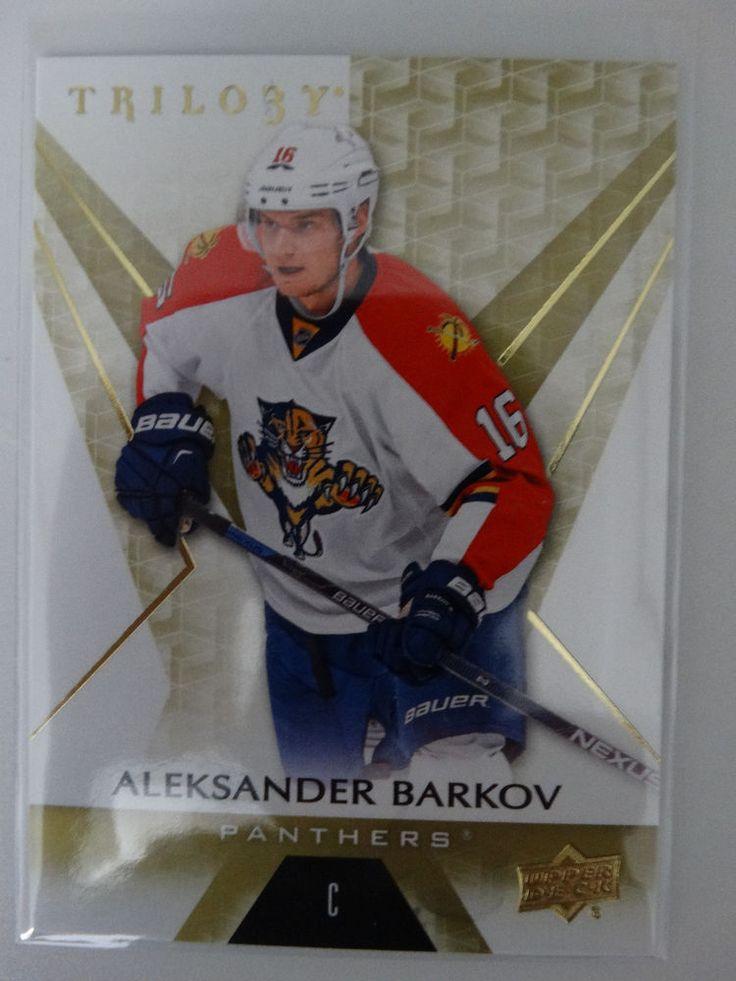 2016-17 Upper Deck Trilogy #28 Aleksander Barkov Florida Panthers Hockey Card #FloridaPanthers